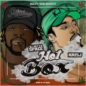 DJ Outta Space & Kris J - Hot Box mixtape cover art