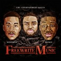 E.B.E. Ent. - Freewrite Music mixtape cover art