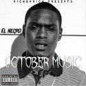 El Negro - October Music EP mixtape cover art