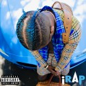iRap - Aqua Blue mixtape cover art