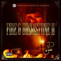 JP One - Fire & Brimstone 2 mixtape cover art