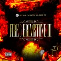 JP One - Fire & Brimstone 3 mixtape cover art