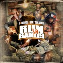 JT The Bigga Figga, Future & Young Scooter - Run Ya Bands mixtape cover art