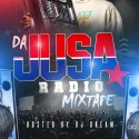 JUSA Radio mixtape cover art
