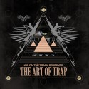 KE On The Track - The Art Of Trap mixtape cover art