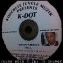 Kendrick Lamar - Hub City Threat Minor Of The Year mixtape cover art