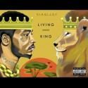 King Lop - Living King mixtape cover art