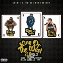 King Of The West 216 2 mixtape cover art