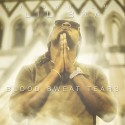 Lil Bra - Blood Sweat Tears mixtape cover art