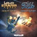 Liquid Stranger & Space Jesus - Don't Stop / Won't Stop mixtape cover art