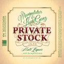 Louie Gonz & DJ Manipulator - Private Stock mixtape cover art