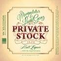 Louie Gonz & DJ Manipulator - Private Stock mixtape cover art