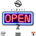 Maui Max - Always Open 2 mixtape cover art