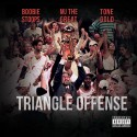 MJ The Great, Boobie Stoops & Tone Gold - Triangle Offense mixtape cover art