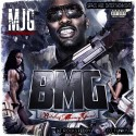 MJG - Bitches Money Guns mixtape cover art