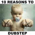 Mochipet - 10 Reasons To Love Hate Love Hate Dubstep mixtape cover art