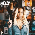 Molly Brazy - Molly World mixtape cover art