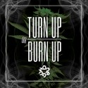 Omeguh - Turn Up Or Burn Up mixtape cover art