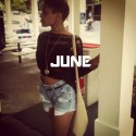 Paris Jones - June EP mixtape cover art