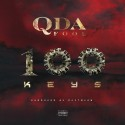 Q Da Fool - 100 Keys mixtape cover art