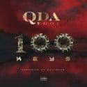 Q Da Fool - 100 Keys mixtape cover art