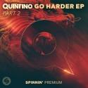 Quintino - Go Harder EP 2 mixtape cover art