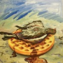 Rich Jones - Pigeons & Waffles mixtape cover art
