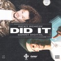 Ricky Remedy - Did It mixtape cover art