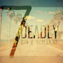 SIN x Numonics - 7 Deadly EP mixtape cover art