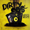 Sizzle Beatz - Dirty 808's mixtape cover art