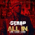 Strap - All In mixtape cover art