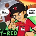 T-Red - T-Red Fool! mixtape cover art