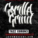 Tazz Coron3 - Gorilla Grind mixtape cover art