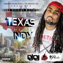 Texas Meets Indy mixtape cover art