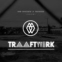 thefaded. x BMB SpaceKid - Traaftwerk EP mixtape cover art