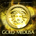 TK Kayembe & KE On The Track - Gold Medusa mixtape cover art
