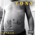 T.O.N.Y - S.A.V.A.G.E. mixtape cover art