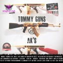 Trap-A-Lot Reocords - Tommy Guns & AK's mixtape cover art