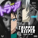 V. CHA$E & Kid Art - Trapper Keeper mixtape cover art