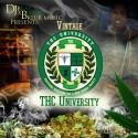 Vintage Spinach - THC University mixtape cover art