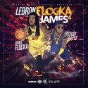 Waka Flocka - Lebron Flocka James 4 mixtape cover art