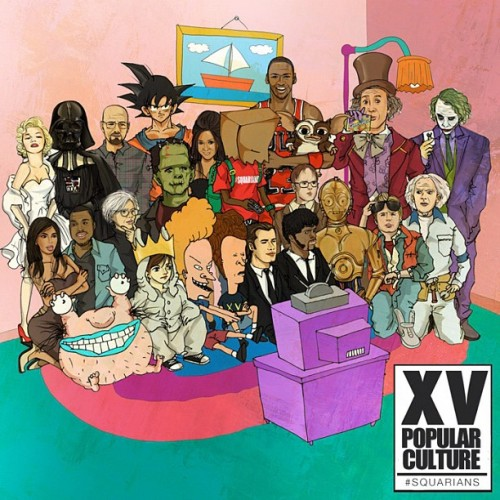 XV - Popular Culture Mixtape