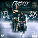 YFL Kelvin & Big40 - Flashy RoadRunners mixtape cover art