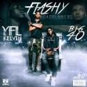 YFL Kelvin & Big40 - Flashy RoadRunners mixtape cover art
