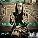 Young Mari - New Life Style mixtape cover art