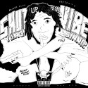 Yung Simmie - Shut Up & Vibe mixtape cover art