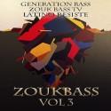 Zouk Bass 3 mixtape cover art