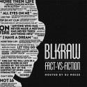 BLKRAW - Fact-vs-Fiction mixtape cover art