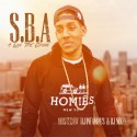 S.B.A - A Long Time Coming mixtape cover art