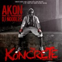 Akon - The Koncrete Mixtape mixtape cover art